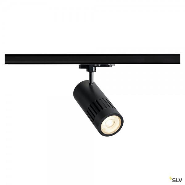 SLV 1003026 Structec, 3Phasen, Strahler, schwarz, dimmbar Dali, LED, 29W, 4000K, 2600lm