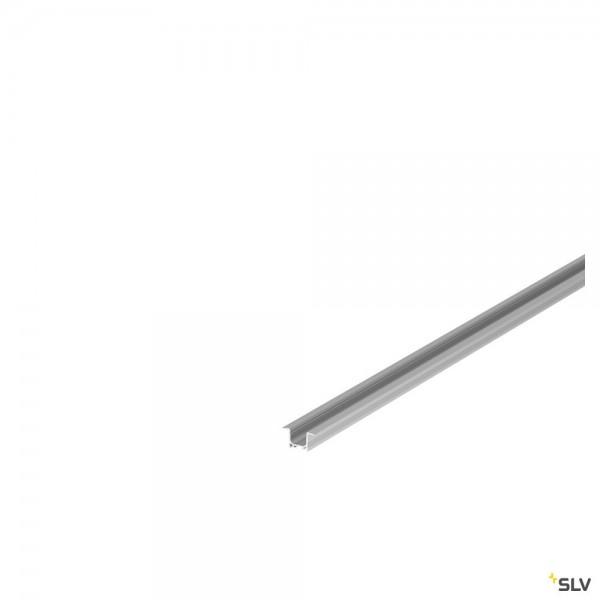 SLV 1000457 Grazia 3016, Einbauprofil, alu eloxiert, B/H/L 3x1,62x200cm, LED Strip max.B.1cm