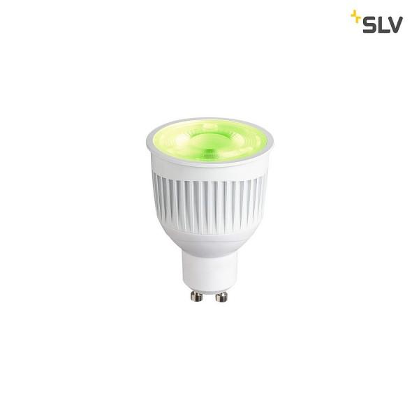 SLV 1002524 Play, Leuchtmittel, weiß, dimmbar, QPAR51, GU10, LED, 6,6W, 2200-6500K, 460lm, RGBW, 50°