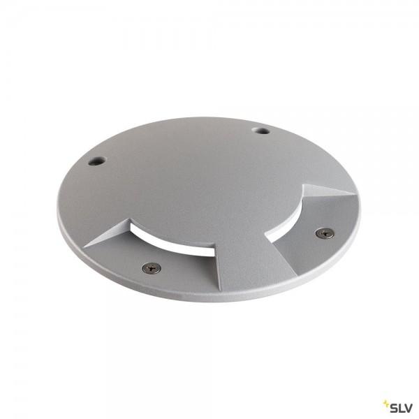 SLV 1001252 Big Plot, Aluminiumabdeckung, 2er, silbergrau