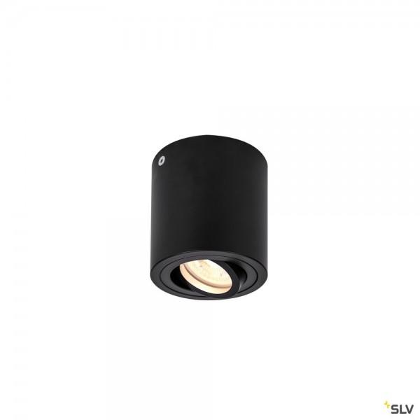 SLV 1002010 Triledo Round, Deckenleuchte, schwarz, LED GU10, max.10W