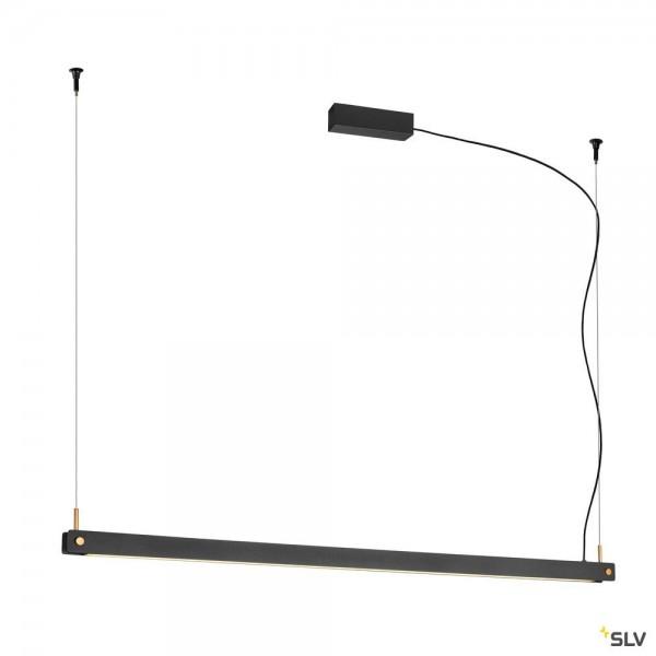 SLV 1003530 Noya, Pendelleuchte, schwarz, dimmbar C, LED, 32W, 2700/3000K, 2025lm