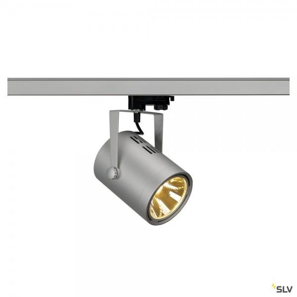 SLV 1002683 Euro Spot Track, 3Phasen, Strahler, grau, LED, 20W, 3000K, 1900lm