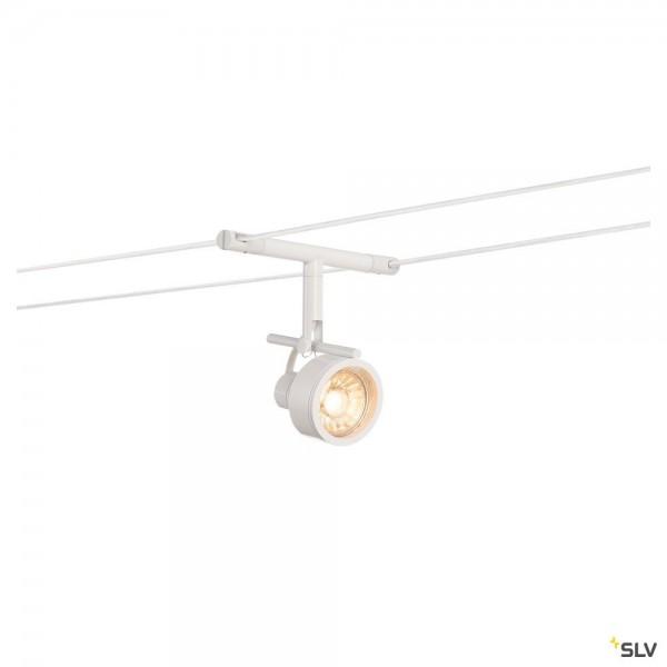 SLV 139131 Saluna, Seilsystem, Strahler, weiß, GX5.3, max.35W