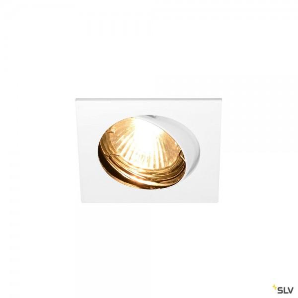 SLV 1002208 Pika, Deckeneinbauleuchte, weiß, QPAR51, GU10, max.50W