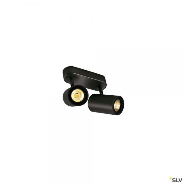 SLV 152020 Enola_B, Strahler, schwarz, QPAR51, GU10, max.2x50W