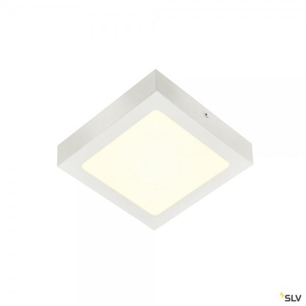 SLV 1004704 Senser 18, Wand- und Deckenleuchte, weiß, dimmbar C, LED, 12W, 4000K, 880lm
