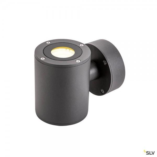 SLV 1002018 Sitra, Wandleuchte, anthrazit, up&down, IP44, LED, 17W, 3000K, 976lm