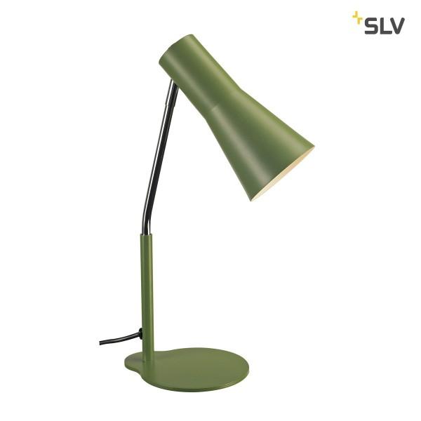 SLV 146005 Phelia, Tischleuchte, farngrün, QPAR51, GU10, max.35W
