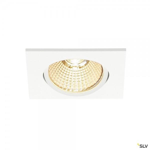 SLV 1001992 New Tria, Deckeneinbauleuchte, Dim to Warm C+L, LED, 7,3W, 1800K-3000K, 440lm