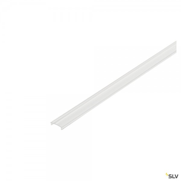 SLV 214350 Glenos 2713, 1107, H-Profil, Abdeckung, 200cm, PMMA, transparent