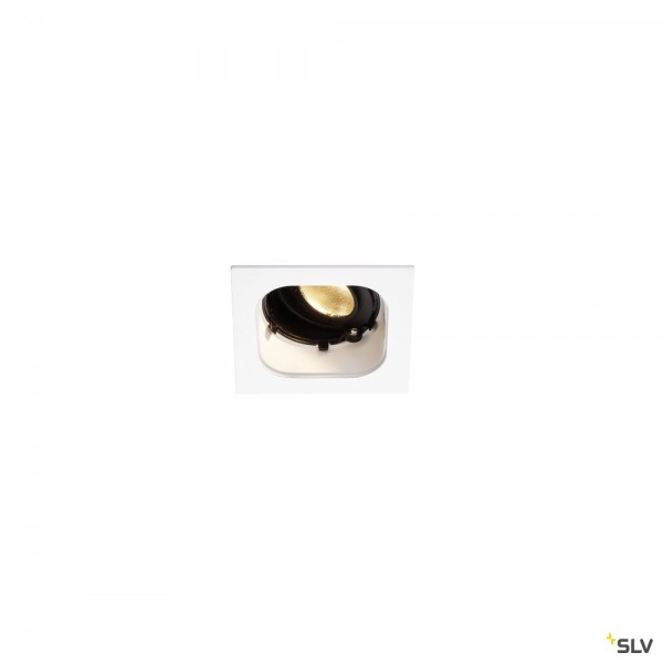 SLV 1001828 Renisto, Deckeneinbauleuchte, weiß, dimmbar Triac C+L, LED, 9,6W, 3000K, 500lm
