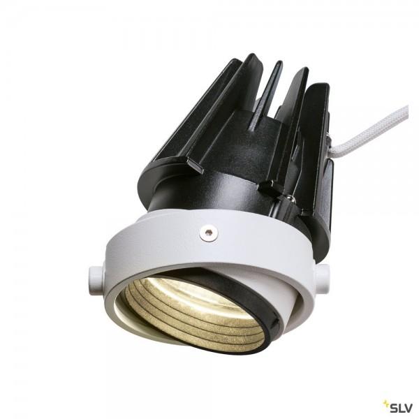 SLV 1002600 LED Modul, Aixlight® Pro50, weiß/schwarz, 12,3W, 4000K, 1185lm