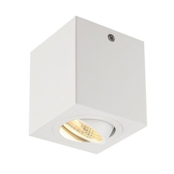 SLV 1000254 Uno Lux Square, Deckenleuchte, weiß matt, LED, 8,1W, 3000K, 670lm