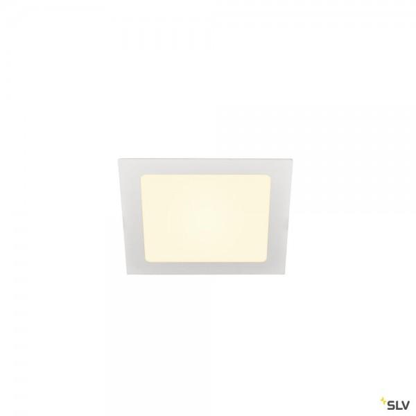 SLV 1003012 Senser 18, Deckeneinbauleuchte, weiß, LED, 9,7W, 3000K, 820lm