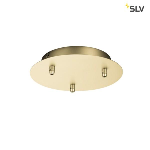 SLV 1002164 Fitu, Deckenrosette, gold, 3er