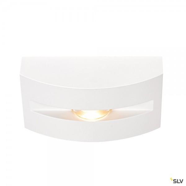 SLV 1003519 Out-Beam Frame, Wand- und Deckenleuchte, weiß, IP55, LED, 3,5W, 3000K, 60lm