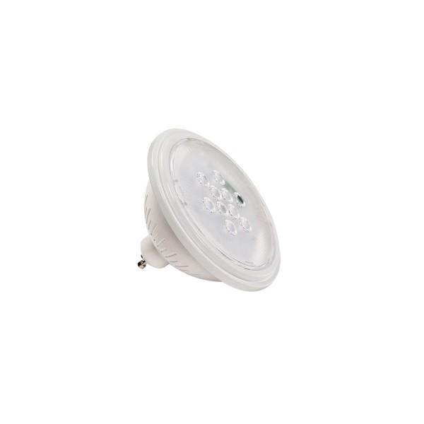 SLV 1000755 Valeto®, weiß, dimmbar, QPAR111, GU10, LED, 9,5W, 2700K, 830lm, 25°