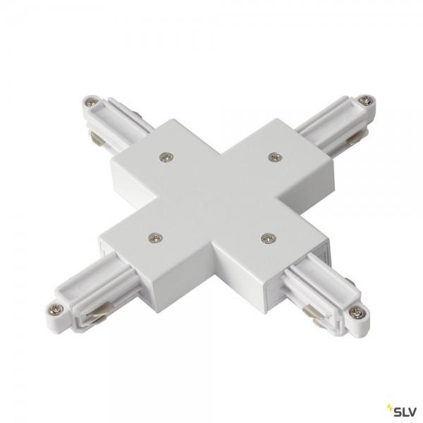 SLV 143161 1 Phasen, Aufbauschiene, X-Verbinder, weiß