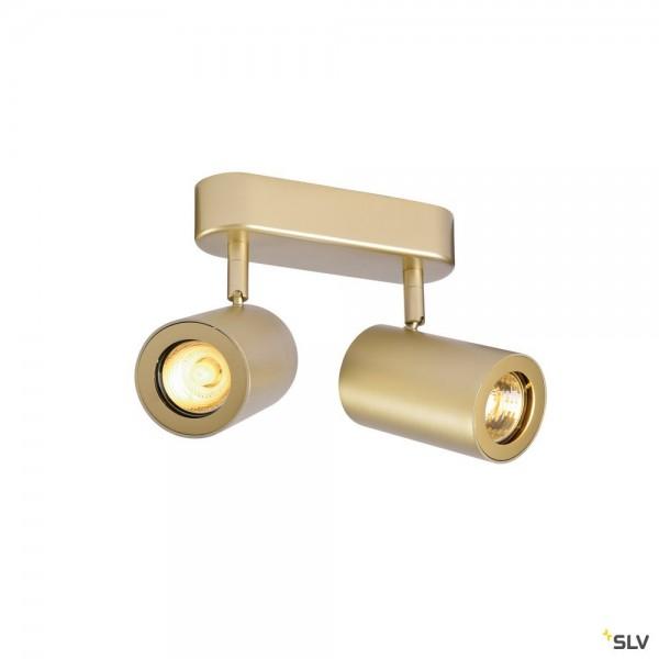 SLV 152023 Enola_B, Strahler, gold, QPAR51, GU10, max.2x50W