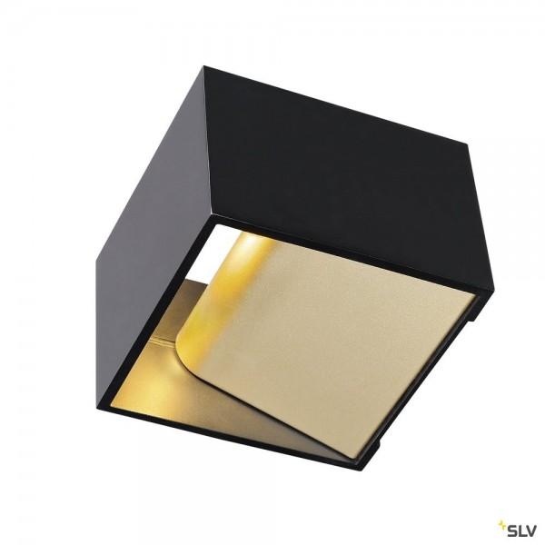 SLV 1000638 Logs In, schwarz/gold, up&down, Dim to Warm C, LED, 12W, 2000K-3000K, 290lm
