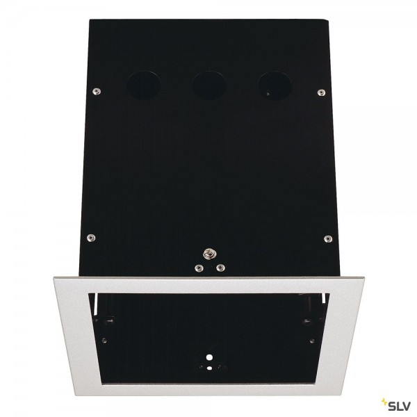 SLV 115104 Einbaurahmen 1 Frame, silbergrau, Aixlight Pro®