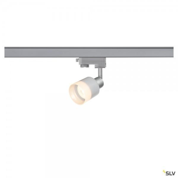 SLV 1001873 Puri Track, 3Phasen, Strahler, silbergrau, QPAR51, GU10, max.50W