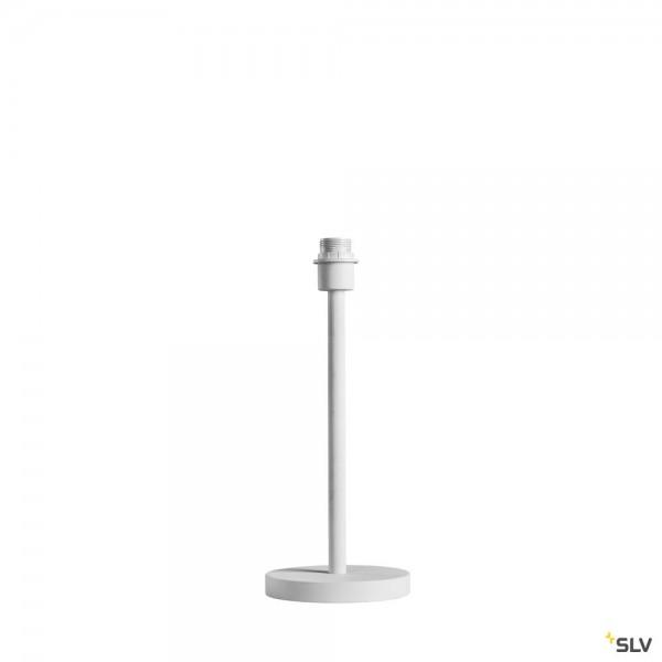 SLV 1003030 Fenda, Basis, Tischleuchtenfuß, weiß, E27, max.60W