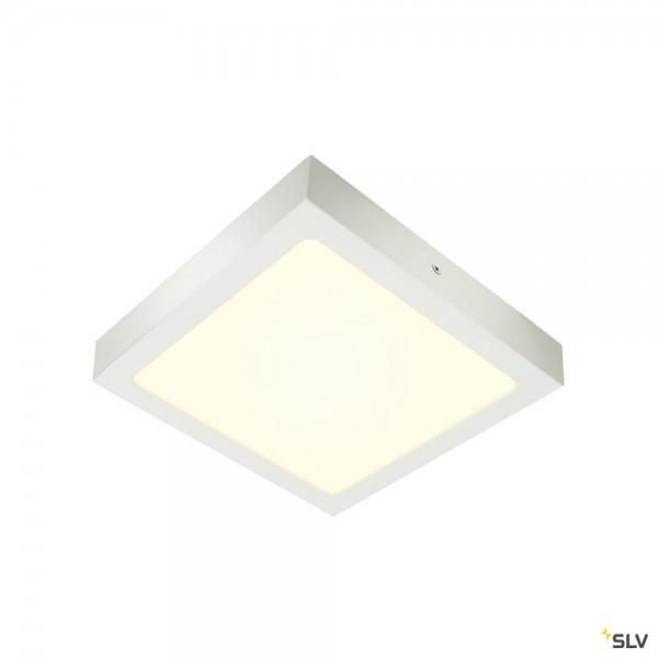 SLV 1004705 Senser 24, Wand- und Deckenleuchte, weiß, dimmbar C, LED, 15W, 4000K, 1240lm