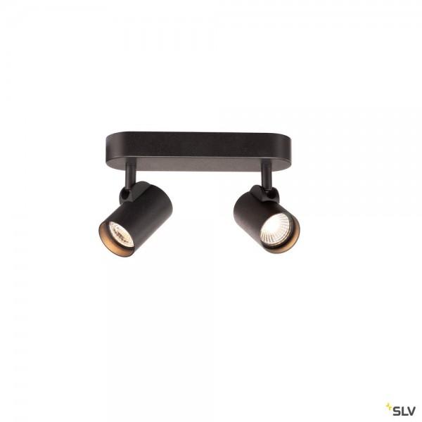 SLV 156510 Helia, Strahler, schwarz, dimmbar L, LED, 18W, 3000K, 1200lm