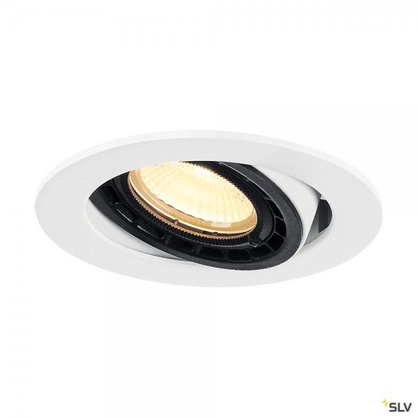 SLV 116311 Supros, Deckeneinbauleuchte, weiß, dimmbar Triac C+L, LED, 12W, 3000K, 700lm