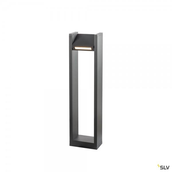 SLV 1003001 Quad Pole, Standleuchte, anthrazit, IP65, LED, 18W, 3000K, 1550lm