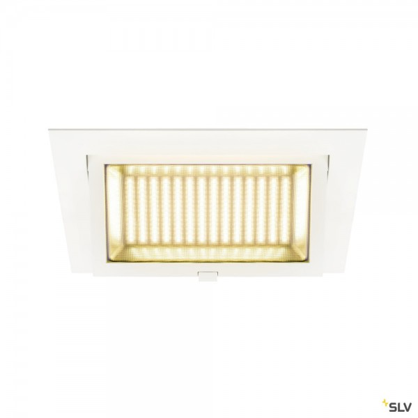 SLV 1000793 Alamea, Deckeneinbauleuchte, weiß, LED, 30W, 4000K, 2750lm