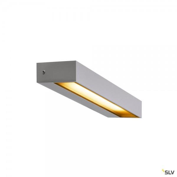 SLV 1002071 Pema, Wandleuchte, silbergrau, IP54, LED, 7,7W, 3000K, 450lm