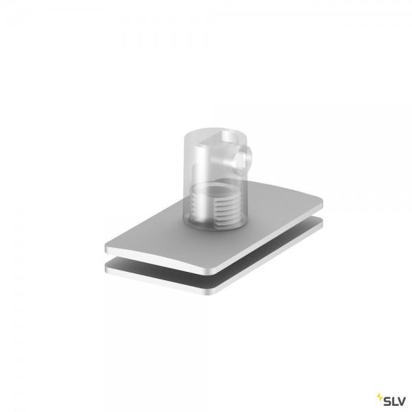 SLV 1001801 Zugentlastung, aluminium, H-Profil