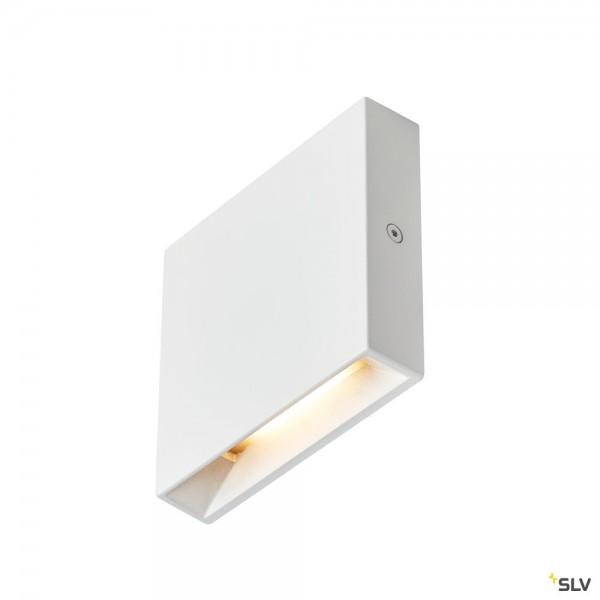 SLV 1003466 Quad Frame 9, Wandeinbauleuchte, weiß, LED, 3W, 3000K, 65lm