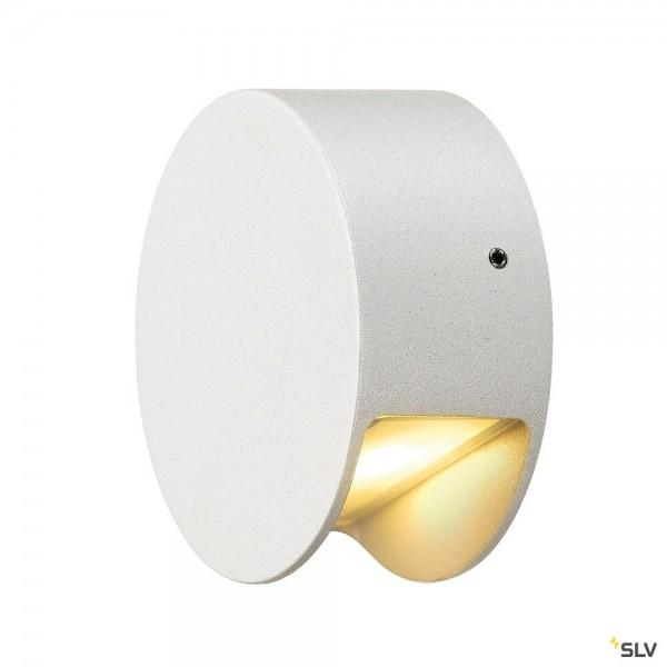 SLV 231010 Pema, Wandleuchte, weiß, IP44, LED, 4,7W, 3000K, 125lm