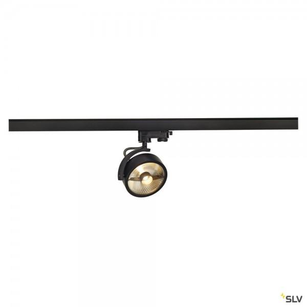 SLV 152610 Kalu Track, 3Phasen, Strahler, schwarz, QPAR111, GU10, max.75W