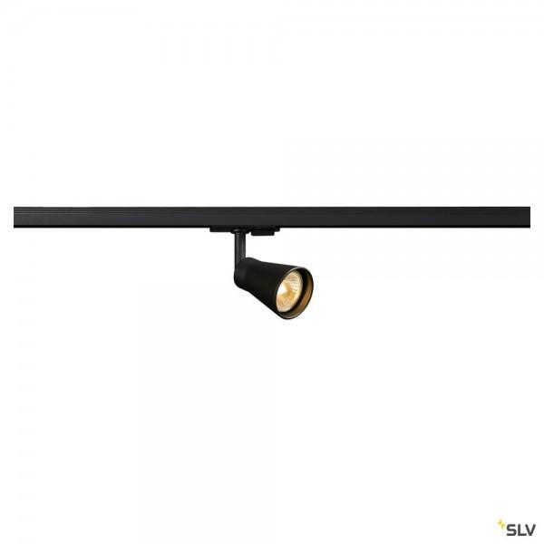 SLV 144200 Avo, 1 Phasen, Strahler, schwarz, QPAR51, GU10, max.50W