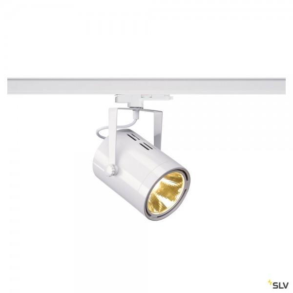 SLV 1002668 Euro Spot, 3Phasen, Strahler, weiß, dimmbar Dali, LED, 20W, 3000K, 1900lm, 15°
