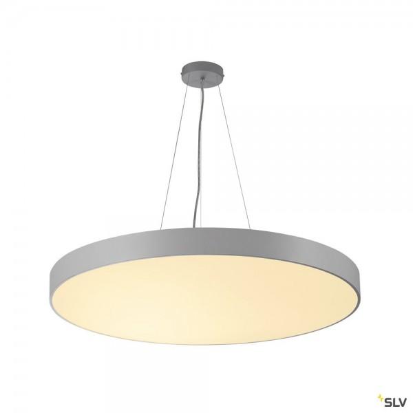 SLV 135254 + 1001892 Medo 90 Ambient, grau, 1,5m, dimmbar Dali, LED, 78W, 3000K/4000K, 10255lm
