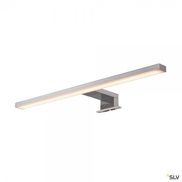 SLV 1000781 Dorisa, Spiegelleuchte, metall gebürstet, IP44, LED, 6,6W, 4000K, 370lm
