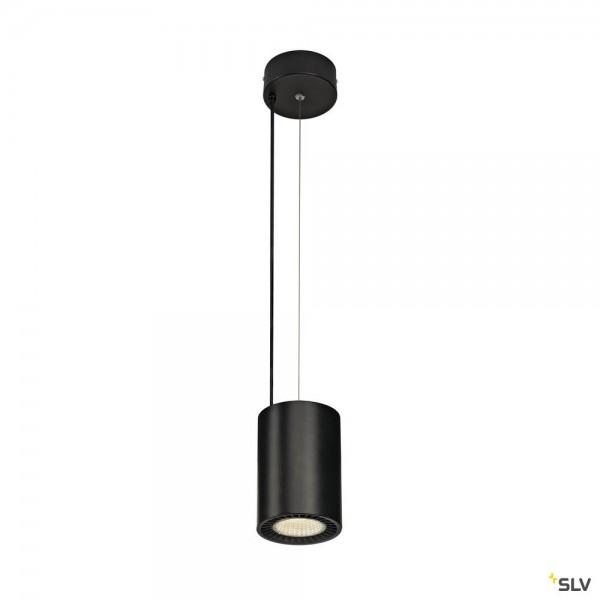SLV 1003277 Supros, Pendelleuchte, schwarz, LED, 31W, 4000K, 2700lm