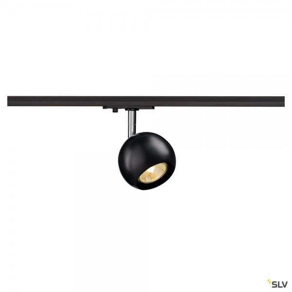 SLV 144010 Light Eye, 1 Phasen, Strahler, schwarz/chrom, QPAR51, GU10, max.50W