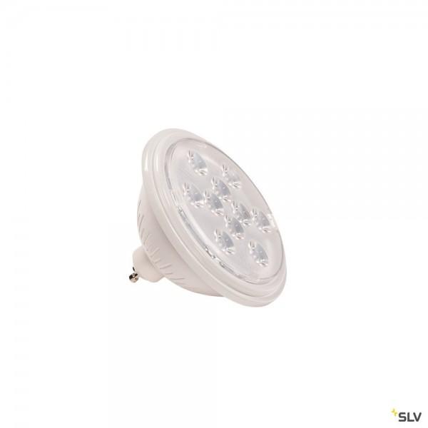 SLV 1000941 Leuchtmittel, weiß, QPAR111, GU10, LED, 7,3W, 2700K, 730lm, 13°